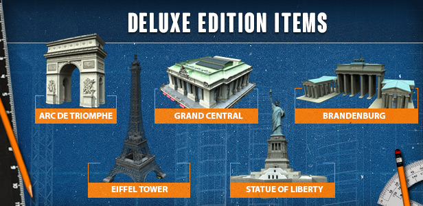 Cities: Skylines Deluxe Edition includes
