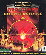 Command & Conquer Red Alert Counterstrike Cover