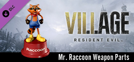 Resident Evil Village - Mr. Raccoon Weapon Charm