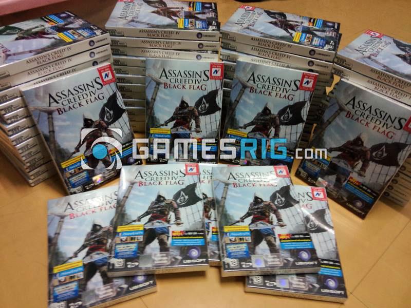 สต๊อกสินค้าเกม Assassin's Creed IV: Black Flag