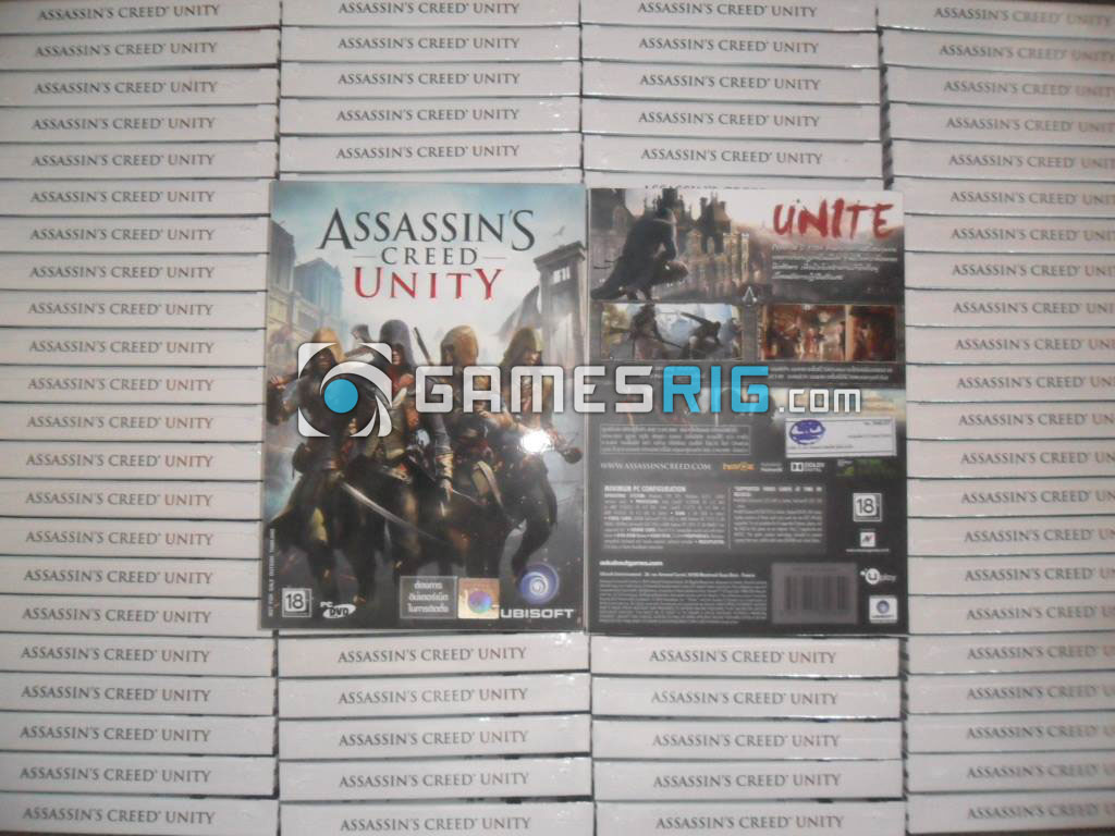 สต๊อกสินค้าเกม Assassin's Creed Unity