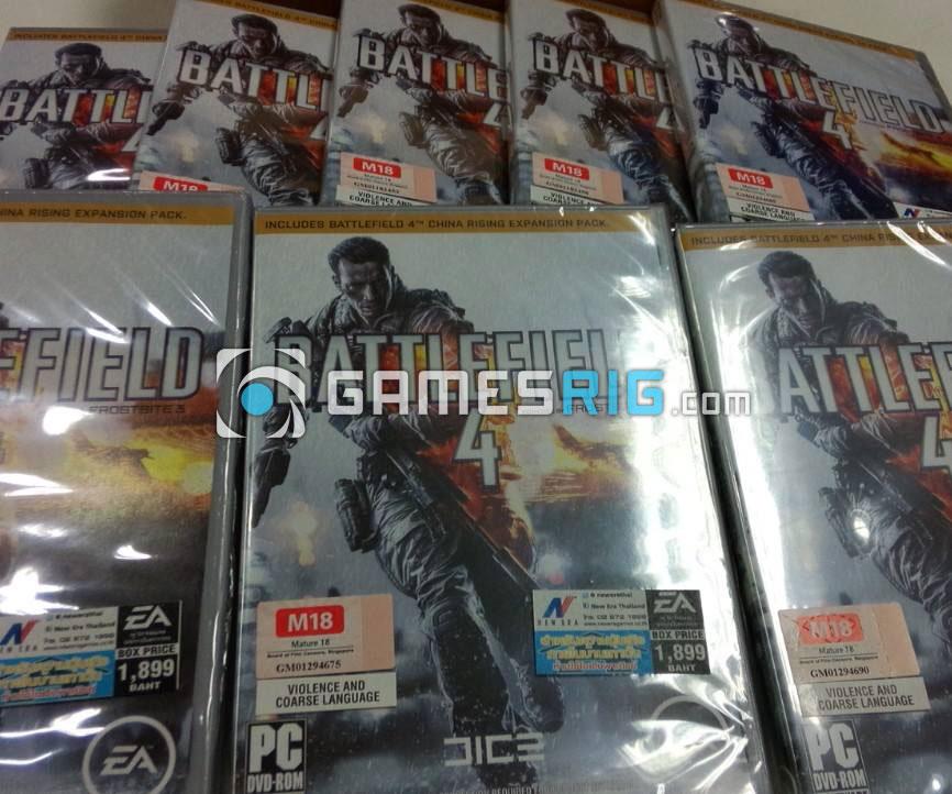 สต๊อกสินค้าเกม Battlefield 4