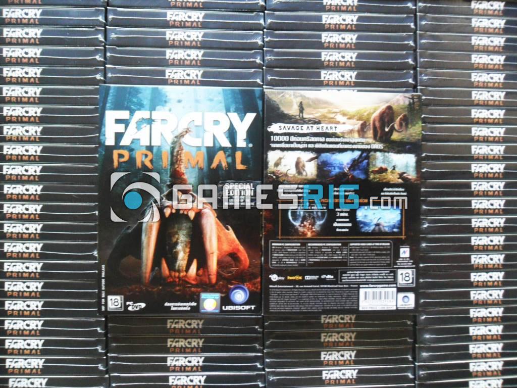 สต๊อกสินค้าเกม Far Cry Primal