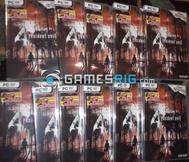 สต๊อกสินค้าเกม Resident Evil 4