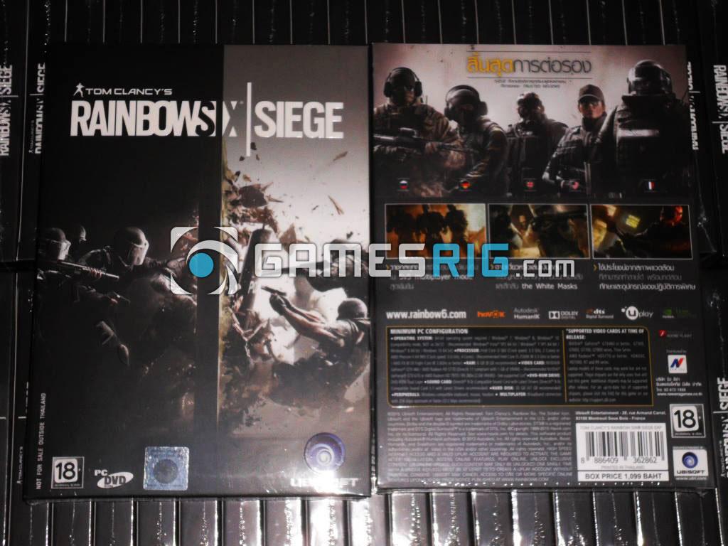 สต๊อกสินค้าเกม Tom Clancy's Rainbow Six Siege