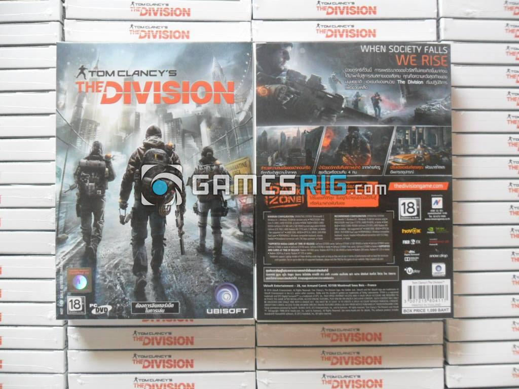 สต๊อกสินค้าเกม Tom Clancy's The Division