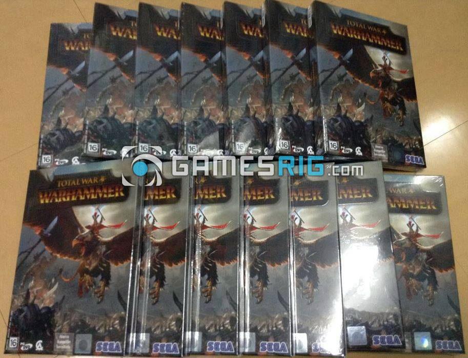 สต๊อกสินค้าเกม Total War: Warhammer