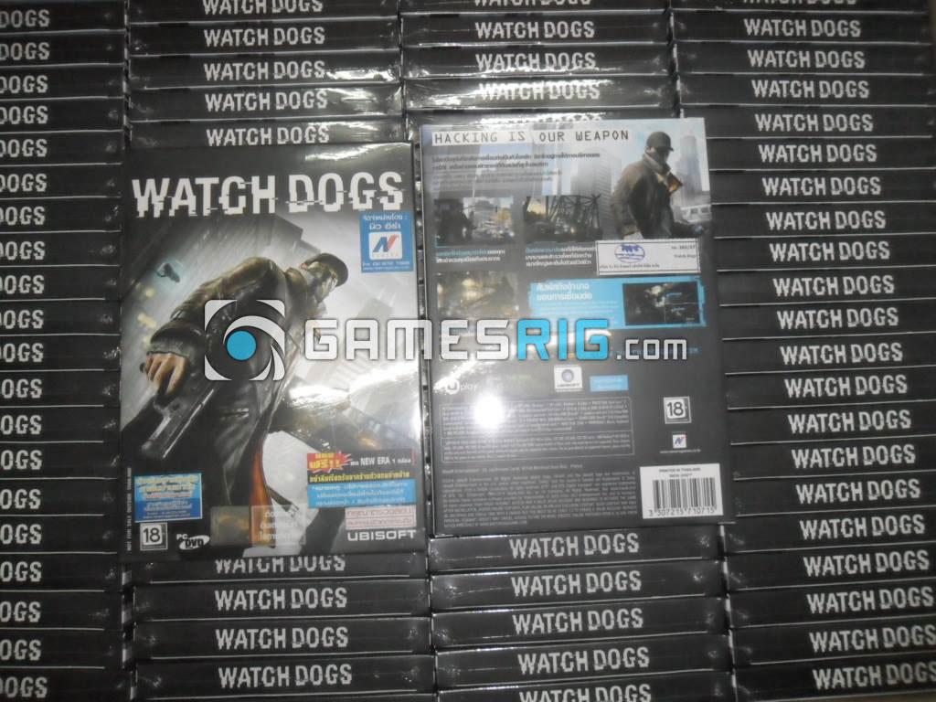 สต๊อกสินค้าเกม Watch Dogs