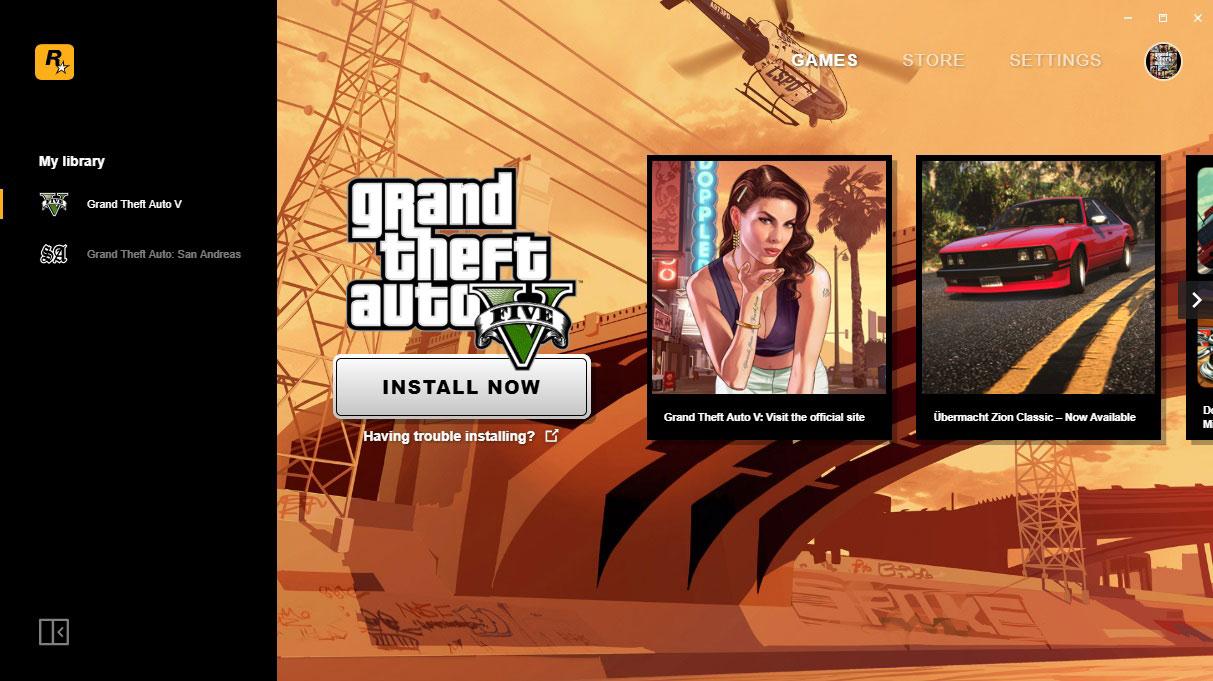 วิธีเปิดใช้งานเกม Rockstar
