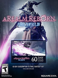 Final Fantasy XIV: A Realm Reborn 60 Day Time NA