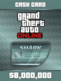 Grand Theft Auto Online: Megalodon Shark Cash Card - 8,000,000$ PC