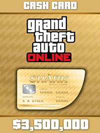 Grand Theft Auto Online: Whale Shark Cash Card - 3,500,000$ PC