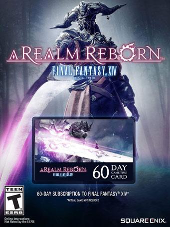 Final Fantasy XIV: A Realm Reborn 60 Day Time NA