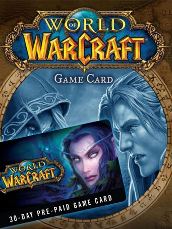 World of Warcraft 30 Days Time Card US